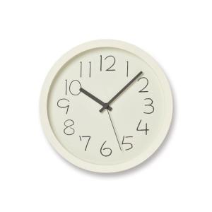 【送料無料】CHALK/チョーク/ホワイト (NY18-08 WH)/壁掛け時計/Lemnos/レムノス/奈良雄一|pepapape