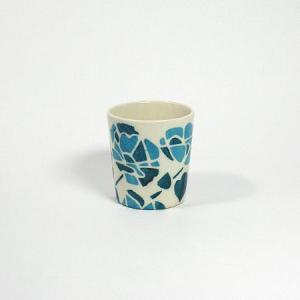 北欧スウェーデンのカップ・小 ブルー/アンナ・ブロストロム|pepapape