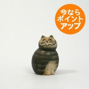 MIA mini(S)/ネコ グレー/Lisa Larson(リサ・ラーソン)/置物/オブジェ|pepapape