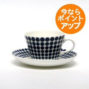 Gustavsberg(グスタフスベリ)/ Stig Lindberg(スティグ・リンドベリ) / ADAM(アダム)/ コーヒーカップ&ソーサー|pepapape