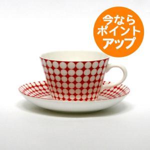 Gustavsberg(グスタフスベリ)/ Stig Lindberg(スティグ・リンドベリ) / Eva(エヴァ エバ)/ コーヒーカップ&ソーサー|pepapape