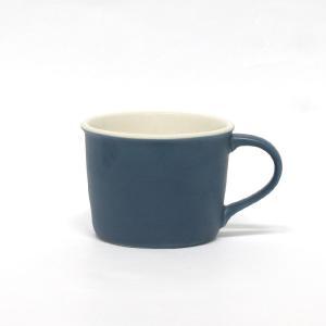 モイスカップ/アオ/ペロカリエンテ/今泉 泰昌/マグカップ/磁器/MOISCUP/ブルー/藍/青/Perrocaliente|pepapape