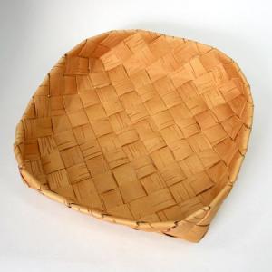 北欧フィンランドの白樺のカゴ 正方形・大/21×21x6cm/カイヤ・カッリ/しらかば/シラカバ/かご/籠/バスケット|pepapape