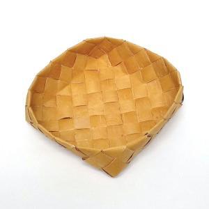 北欧フィンランドの白樺のカゴ 正方形・中/17×17x6cm/カイヤ・カッリ/しらかば/シラカバ/かご/籠/バスケット|pepapape