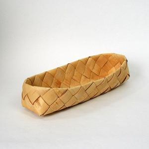 北欧フィンランドの白樺のカゴ 長方形・大/27×8×6cm/カイヤ・カッリ/しらかば/シラカバ/かご/籠/バスケット|pepapape