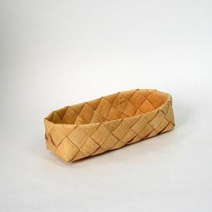 北欧フィンランドの白樺のカゴ 長方形・小/カイヤ・カッリ/21×8×6cm/しらかば/シラカバ/かご/籠/バスケット|pepapape