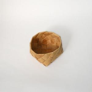 北欧フィンランドの白樺のカゴ 正方形・小/カイヤ・カッリ/しらかば/シラカバ/かご/籠/バスケット|pepapape