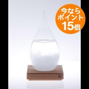 【ポイント15倍中&送料無料】Tempo Drop(テンポドロップ)/Perrocaliente(ペロカリエンテ)/日々変わる結晶が美しいストームグラス|pepapape