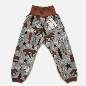 フィンランドブランド MURU パンツ「オオカミ グレー」「サイズ:86/92」/子供服/オーガニック|pepapape