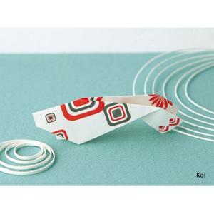 ori-hagaki geometric 「Koi」/動物ポストカード|pepapape