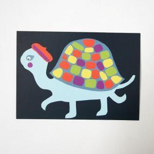 北欧フィンランドのポストカード/Turtle/ファブリックファーム|pepapape