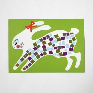 北欧フィンランドのポストカード/Bunny/ファブリックファーム|pepapape