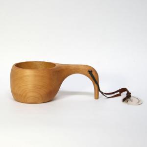 【送料無料】ククサ L/スカンジナビアン・ヘムスロイド/北欧の幸せを運ぶカップ/木製/コップ/KUKSA/鳥/スカンジナビスク|pepapape