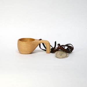 【送料250円】北欧の幸せを運ぶカップ/KUKSA ククサ 鳥 S/スカンジナビアン・ヘムスロイド/スカンジナビスク/木製/コップ【宅急便コンパクト対応】|pepapape