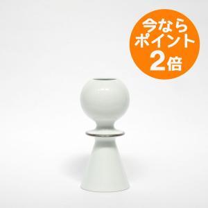 HILDA silver/FREJA&HILDA(フレイヤ&ヒルダ) 波佐見焼の陶磁器/Lisa Larson(リサ・ラーソン)/花器/フラワーベース|pepapape