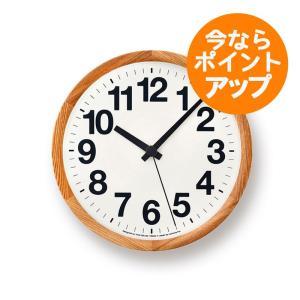 【送料無料】Clock A/ナチュラル/Yota Kakuda/壁掛け時計/Lemnos/レムノス/角田陽太|pepapape