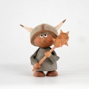 ミニドール/木のフィギュア/トムテ/バイキング・ボーイ/スカンジナビアン・ヘムスロイド/スカンジナビスク/オブジェ/置物/木製/北欧|pepapape