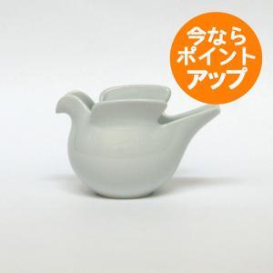 Lisa Larson(リサ・ラーソン)/duva(鳩のポット) ホワイト/西山陶器(波佐見焼)/置物/オブジェ|pepapape