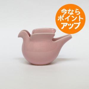 Lisa Larson(リサ・ラーソン)/duva(鳩のポット) ピンク/西山陶器(波佐見焼)/置物/オブジェ|pepapape