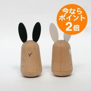 木のおもちゃ/usagi(ウサギ)/kiko+(キコ)/起き上がり小法師/起き上がりこぼし/知育玩具|pepapape