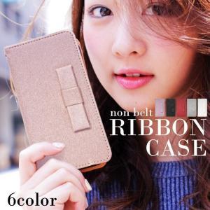 Galaxy S8 SC-02J 用 スマホケース ギャラクシー エス8 エスシー02ジェイ スマホカバー 手帳型 α 縦RIBBON FJ6376|pepe-ys