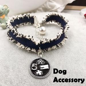 犬 猫 首輪 大人気 ネックレス アクセサリー DOG CAT 可愛い チョーカー ブラック|pepedogcat ...