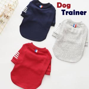 ◎犬 服 犬服 小型犬 トップス トレーナー ドッグウエア XS S M L XL ネイビー レッド グレー