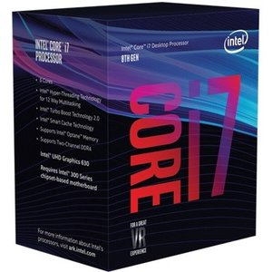 送料無料 Core i7-8700 6C/12TH 3.20GHz