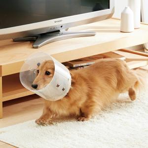 アニサポ アイガード Mサイズ エリザベスカラー 保護 手術 術後 犬 犬用 ペット 日本製 国産
