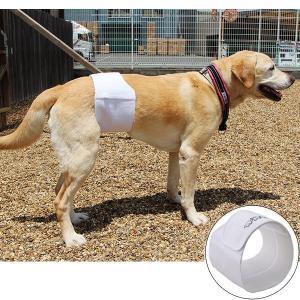 リタイヤした盲導犬の介護経験をもとに開発された男の子専用マナーベルト。人間の腰痛ベルトの特徴を生かし...