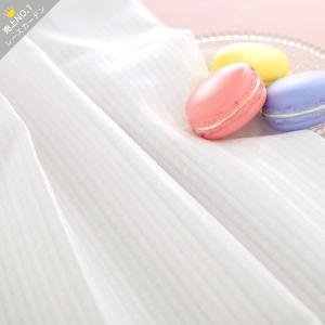 オーダーカーテン 遮像レース 保温 UVカット 〜マーシャ〜 ホワイト 最短翌日出荷 1.5倍ヒダの写真