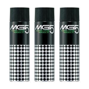 資生堂 MG5 エムジー5 シェービングクリーム(エアゾール)(F) 130g 3個パック|perfectshop