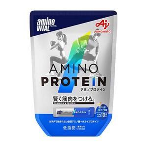 味の素 aminoVITAL アミノプロテイン 10本入パウチ バニラ味 perfectshop