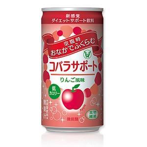 大正製薬 コバラサポート りんご風味 微炭酸 185ml×30本(1ケース)|perfectshop