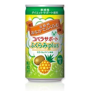 大正製薬 コバラサポート ふくらみplus キウイ&パイン風味 微炭酸 185ml×30本(1ケース)|perfectshop