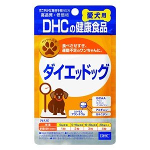 DHC 愛犬用 ダイエッドッグ 60粒入 (ダイエット)|perfectshop