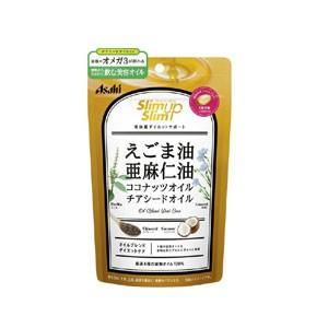アサヒグループ食品 スリムアップスリム 4種の植物オイルカプセル 90粒(30回分)