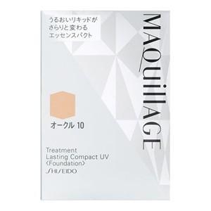 資生堂 マキアージュ トリートメント ラスティングコンパクト UV レフィル 12g オークル10 (ファンデーション)