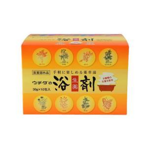 ウチダ和漢薬 ウチダの浴剤 30g×10包入 医薬部外品 (浴用剤)|perfectshop