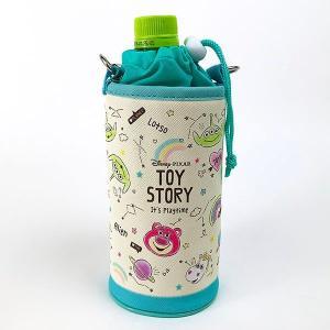 トイストーリー ペットボトルカバー トイストーリー ファジー ペットボトルホルダー 水色 グッズ