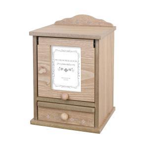 ペットメモリアルボックス (ペット仏壇/フォトフレーム付きBOX) 白木 ブルー仏具セット ペットメ...