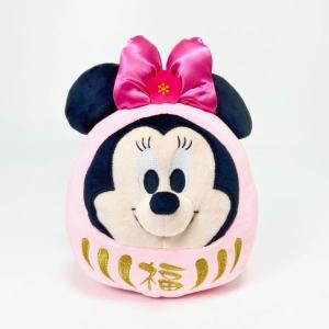 ディズニー ミニー ミニー ダルマ ぬいぐるみ ミッキー&ミニー ミニーマウス 贈り物 Disney...