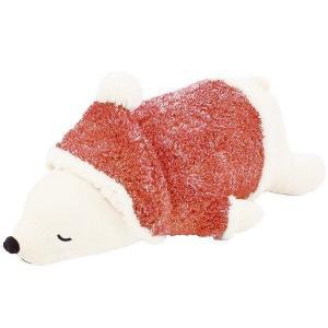 大人気のねむねむシリーズからクリスマス仕様のラッキーが登場☆彡 約30センチのサイズで赤いサンタ帽を...