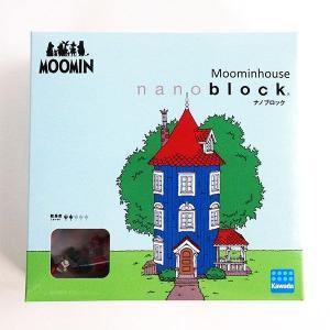 ムーミン ナノブロック ムーミンハウス ブロック ナノブロック パズル おもちゃ ムーミン グッズ