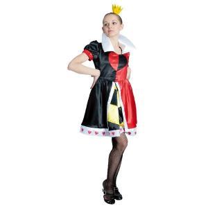 送料無料 ディズニー コスチューム 大人 女性用 ハートの女王 不思議の国のアリス ヴィランズ 仮装|perfectworld-tokyo