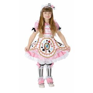 送料無料 コスチューム 子供 女の子 ハローキティ サンリオ アリスキティ ピンク 幼児  3 ~4才 80 ~ 100cm トドラー  不思議の国のアリス pink|perfectworld-tokyo