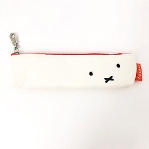 ミッフィーのお顔がかわいいコンパクトペンケース☆彡 荷物を小さくまとめたい時などにおすすめです!