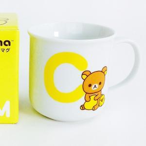 店内セール開催中!リラックマ イニシャルマグ C 日本製 食器 グッズ  (MCOR)