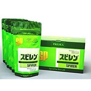 スピレンは、消化に優れた食用藍藻スピルリナを100%原料とした栄養補助食品です。このスピルリナ(アフ...