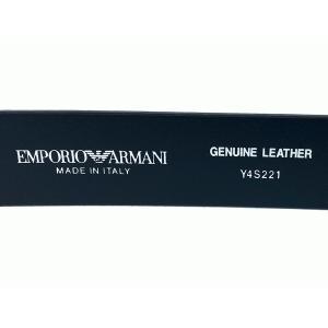 EMPORIO ARMANI エンポリオ アルマーニ YEM390 YC043 80001 NERO 型押し GA イーグルマーク柄 ブラック系レザー ボックス型 コインケース 小銭入れ コインパース|perlei|03